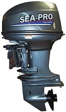 Лодочный мотор Т 40 JS & Е водомет
